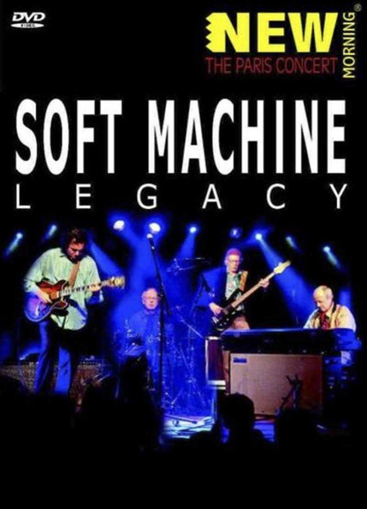 Sophie Le Roux - Pochette DVD - Soft Machine, New Morning, 2007