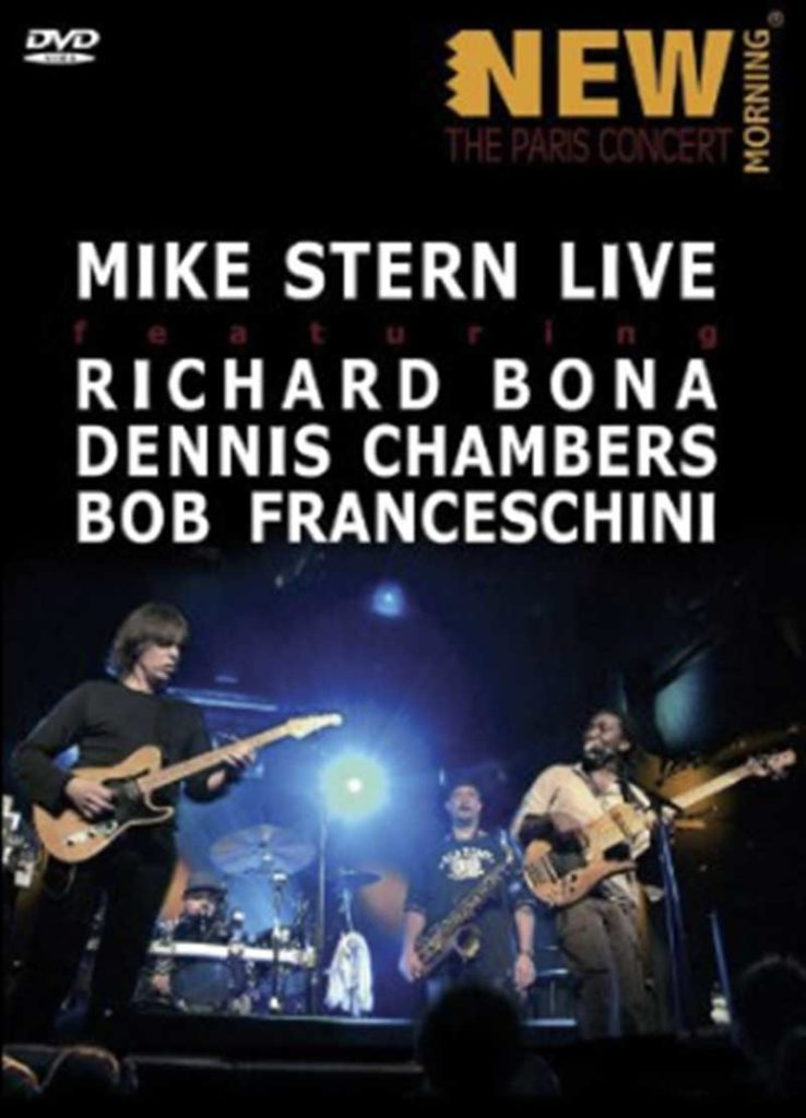 Sophie Le Roux - Pochette DVD - Mike Stern, New Morning, 2007