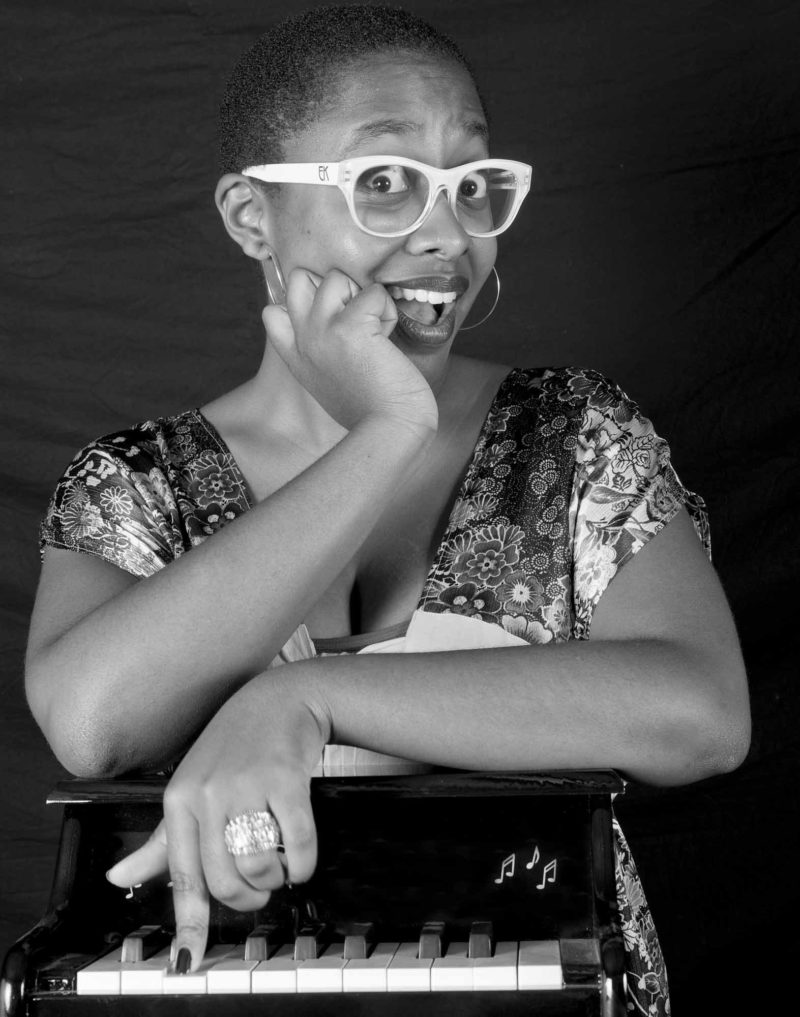 Cecile Mc Laurin Salvant, Jazz a Vienne, 2011 © Sophie LE ROUX