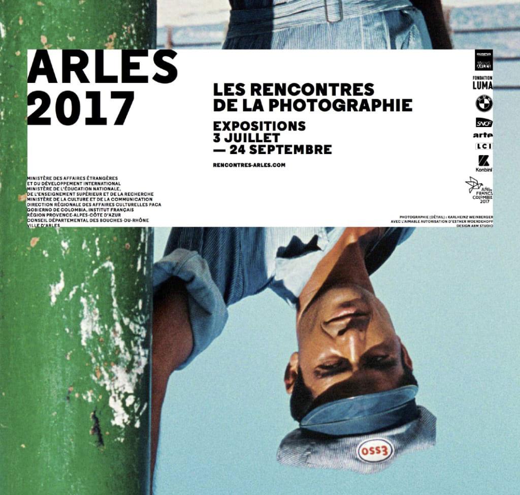 Sophie Le Roux - Affiche du Festival Les Rencontres de la Photographie - Arles, 2017