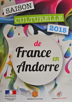 Sophie Le Roux - Affiche de l'exposition Le jazz au bout des doigts a l'Ambassade de France - Andorre, 2015