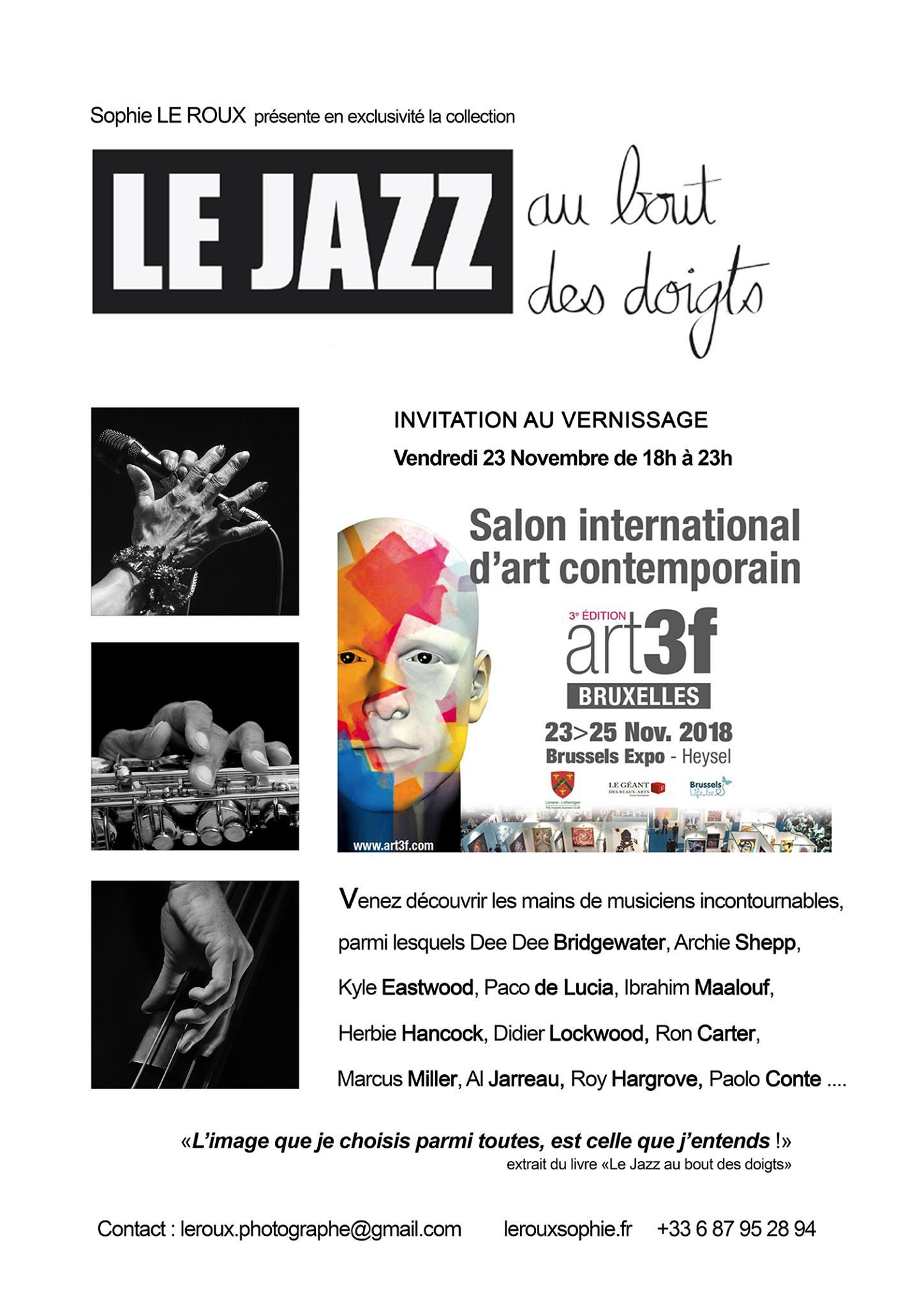 Salon Art3F de Bruxelles